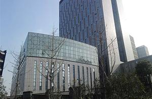 宁波电网总部大楼玻璃、石材、铝板2013年(22000平方)